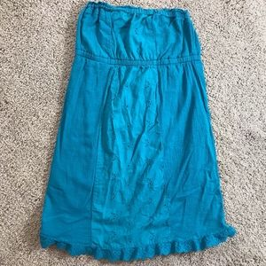 Maurices Turquoise Green Sun Dress Swimsuit Cover